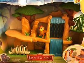 Still in box Lion guard defending pride lands