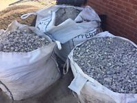 3 Tonne Bags of Aggregate (MOT Type 1 Sub Base) for Sale with Free Slabs