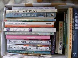 JOB LOT 20 COOK BOOKS