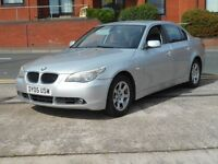 BMW 530d NEW SHAPE + iDRIVE + MOT MAY 2017