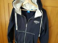 Adidas originals ladies hoodie jacket size uk 16