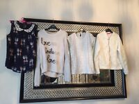 Large selection of girls clothes all good condition some not worn ,from age 10-12