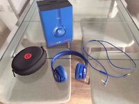 Beats Solo 2 Wireless Blue, Great Condition, Boxed