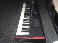Novation impulse 61 note midi controller keyboard