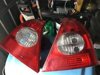 Renault Clio rear headlights mk2 2001-2005