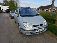 Renaul scenic to sale spares and repair