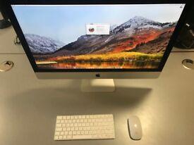 """iMac 27"""" (Late 2015) - i5 @ 3.2GHz - 16GB RAM - 5k Display -256GB SDD - macOS High Sierra"""