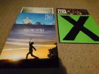Various Records. Vinyl. £ in description Ed Sheeran, George Ezra etc.