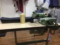 Sewing machine/ hemming blind stitch