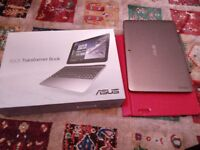 "ASUS - Transformer Book T100HA 10.1"" 2 in 1 - Grey - 16 GB"
