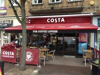 Costa Coffee - Barista's needed in the East London Area