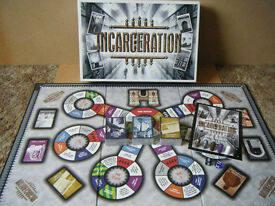 """INCARCERATION"" board game. Produced 2001. Unused and all cards are sealed"