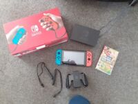 Nintendo switch wirh game