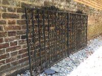 Beautiful Wrought Iron Double Gates