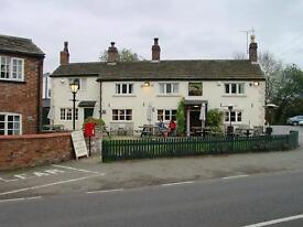 Bird in Hand, Knolls Green, Mobberley, Cheshire. Joint Management Couple Required