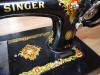 1950s Decorative Singer Sewing Machine