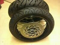 "SuperMoto wheels saxess 17"""