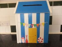 Wedding Post Box Wooden Beach Hut