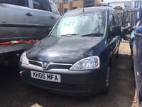 VAUXHALL COMBO 1.3 CDTi, 2006 (06 PLATE), BREAKING FOR SPARES