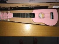Martin Smith Pink ukulele
