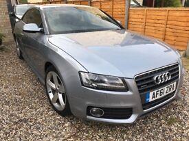 Audi A5 2.0 petrol s-line quattro