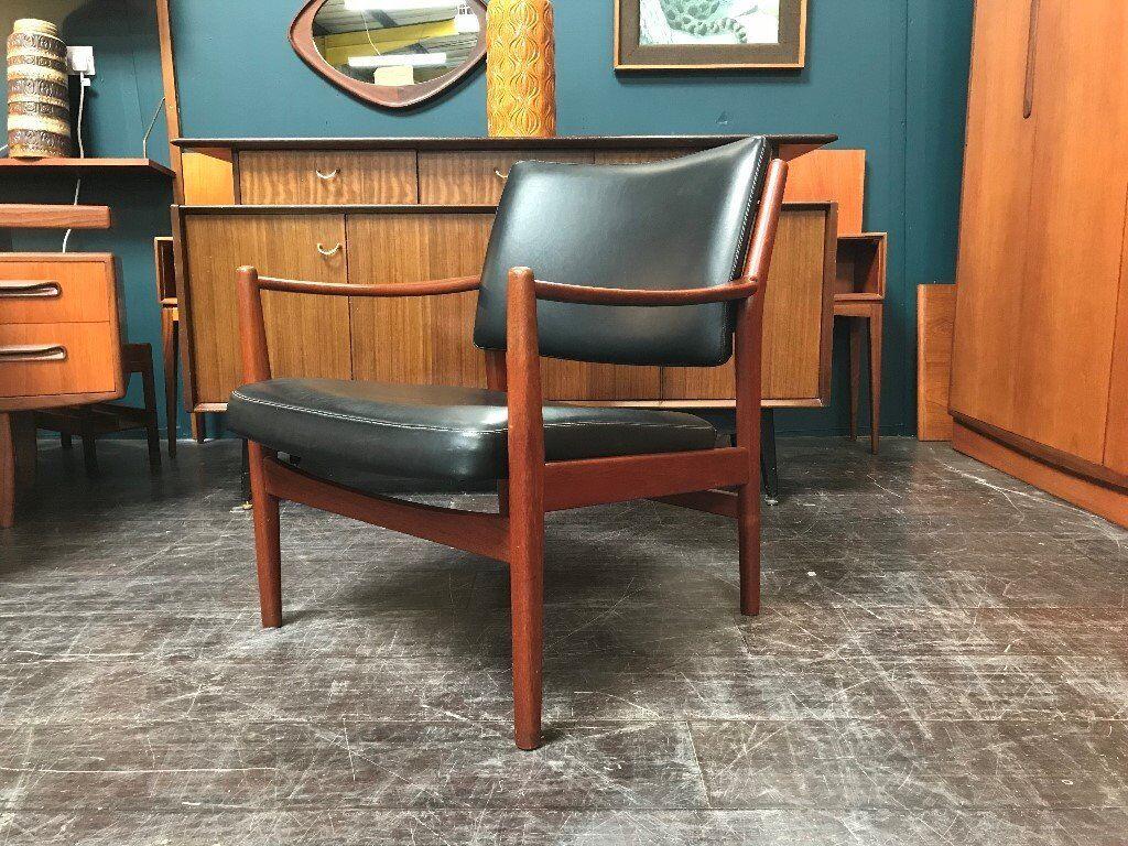 Danish Easy Chair Retro Vintage Mid Century In Southside Glasgow