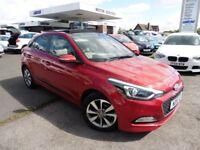 Hyundai i20 GDI PREMIUM SE (red) 2015
