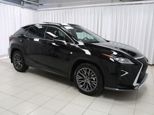 2016 Lexus RX 350 LEXUS CERTIFIED!! FSPORT AWD LUXURY  SUV W/ NA