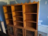Large bespoke bookshelf