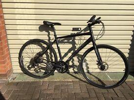 Trek 7.2 FX disc hybrid bike