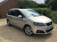 SEAT Alhambra 2.0 TDI CR SE Lux 5 dr Leather. Immaculate condition. Full Service History from new.