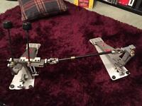 Axis double bass drum pedals
