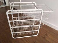 IKEA Storage Drawer Unit with 4 Baskets