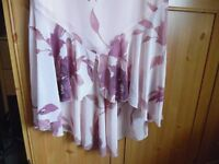 NEXT DRESS,SIZE 12,NEW WITH TAG,GORGEOUS PINK WITH BEADS,GREAT FOR PARTIES/WEDDING