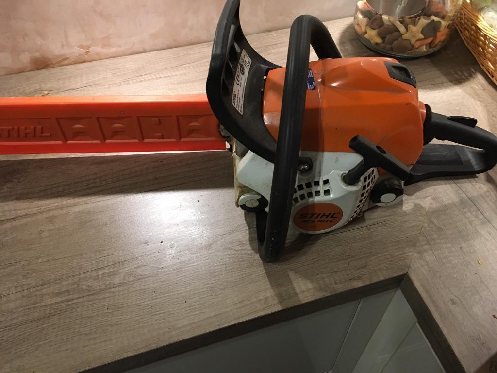 STIHL chainsaw MS181 C ErgoStart