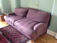 Comfortable 3-seater sofa