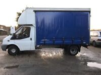 Ford transit 115t350 2006(56) Lwb curtain sider with barn doors ready for work