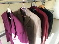 Mens Jackets (four) - VGC