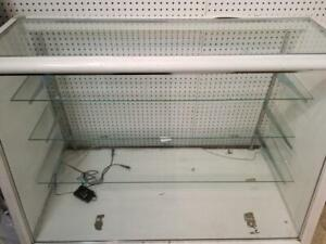 Store Display Glass Showcase Show Case. LED Light. Glass Shelf. 4ft x 3.5ft x 1.5ft. Jewelry / Phone Case / Shoes Shop