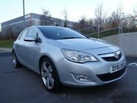 2011 VAUXHALL ASTRA ELITE AUTOMATIC DIESEL, HPI CLEAR, LEATHER INTERIOR, 3 MONTHS WARRANTY
