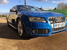 Audi S5 Rare Sprint Blue impeccable History
