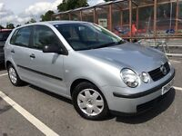 05 VOLKSWAGEN POLO 1.2 5DR TWIST SILVER DRIVES AND LOOKS GREAT SERVICE HISTORY 12 MTHS MOT