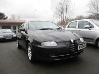 2004 alfa romeo 147 jtd lusso 8v diesel 5 door mot 15th august 2018 hpi clear low miles hpi clear