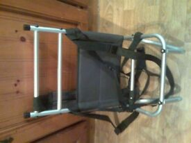 back rest for carry fishing box