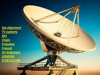 SKY ENGINEER SATELLITE AND AERIAL TV SERVICE PROBLEMS FIX
