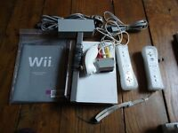 Wii CONSOLE plus FIT BOARD plus GAMES plus MICROPHONES