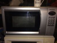 **PANASONIC**MICROWAVE**£25**COLLECTION**NO OFFERS*GOOD CLEAN CONDITION**