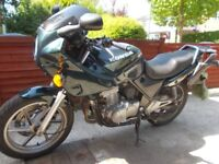 HONDA CB 500 , LOW MILEAGE , WITH RACK AND PANNIERS