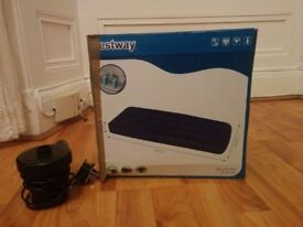 Single airbed including motor for just £10!