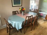 Retro Dining table and chairs set